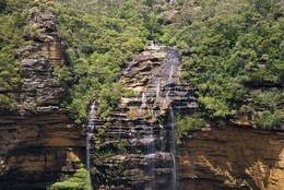 Wentworth Falls - upper half