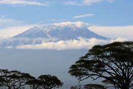 Kilimanjaro loaden with snow