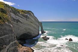 Cape Farewell with Arch
