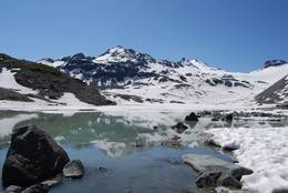 Glacial Lake: Lac des Grands Deserts, Valais, Switzerland
