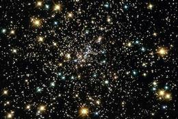 Detail of the Globular Cluster NGC 6397