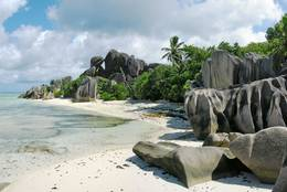 Anse Source d'Argent on La Digue, Seychelles